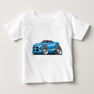 Dodge Viper Roadster Lt Blue Car Baby T-Shirt
