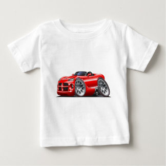 Dodge Viper Roadster Red Car Baby T-Shirt