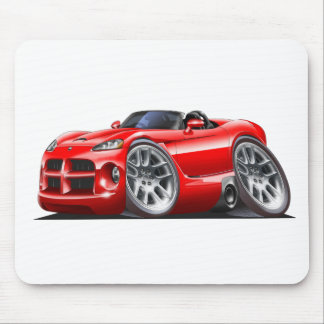 Dodge Viper Roadster Red Car Mouse Pad