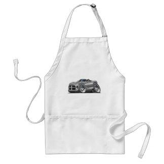 Dodge Viper Roadster Silver Car Aprons