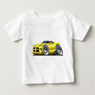 Dodge Viper Roadster Yellow Car Baby T-Shirt
