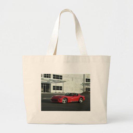 Dodge Viper RT/10 Jumbo Tote Bag