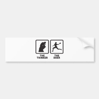 Dodgeball Bumper Sticker