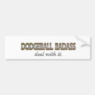 DODGEBALL CAR BUMPER STICKER