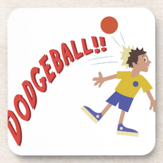 Dodgeball Drink Coasters