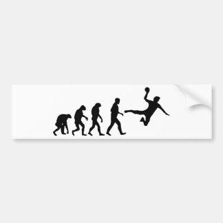 dodgeball evolution car bumper sticker