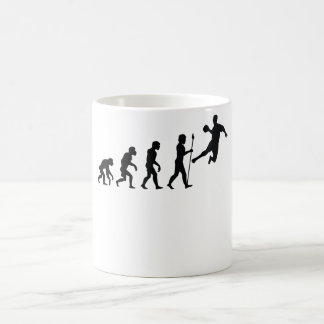 Dodgeball Evolution Coffee Mug