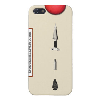 Dodgeball Evolution iPhone 4 - sand - horizontal iPhone 5 Cover