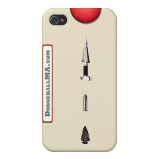 Dodgeball Evolution iPhone 4 - sand - horizontal iPhone 4/4S Case