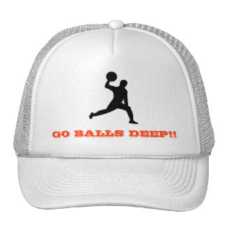 dodgeball, GO BALLS DEEP!! Trucker Hat