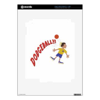Dodgeball iPad 2 Skin