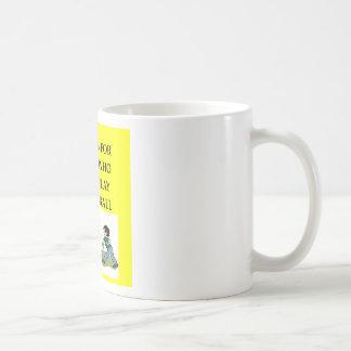 dodgeball joke coffee mug