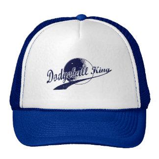 dodgeball king trucker hat