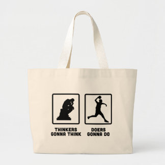 Dodgeball Large Tote Bag