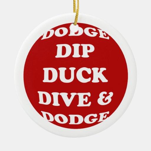 DODGEBALL ornament