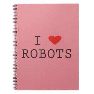 Dodgeball - robots del corazón de I Libro De Apuntes