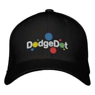 DodgeDot™ Embroidered Wool Cap Embroidered Baseball Caps