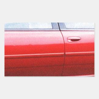 dodgejosh - Copy.jpg automobile, older model Rectangular Sticker