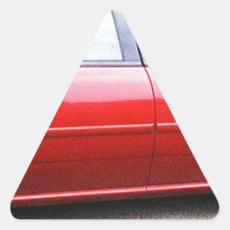 dodgejosh - Copy.jpg automobile, older model Triangle Sticker