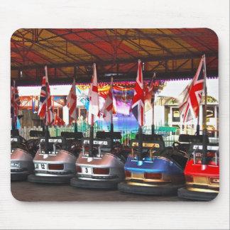 Dodgem Cars at a Funfair Mouse Pad