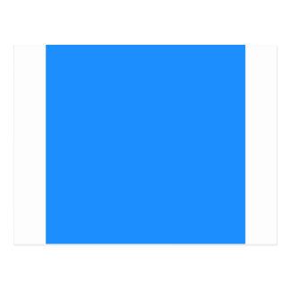 Dodger Blue Postcard