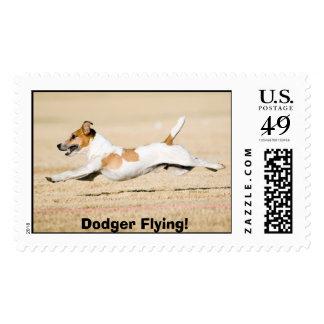 Dodger Flying! Postage