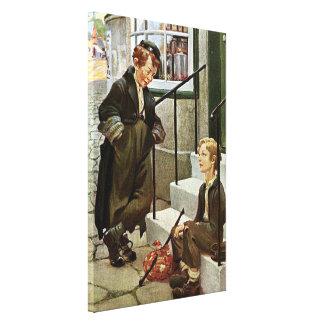 Dodger ingenioso de Oliver Twist Impresión En Lona Estirada