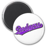 Dodgers in Purple Refrigerator Magnets