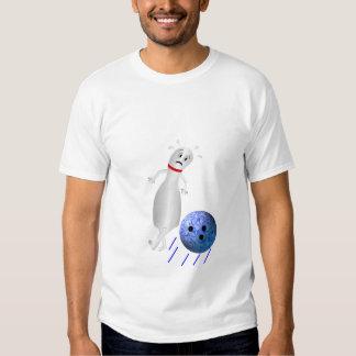 Dodging Bowling Pin Tee Shirt
