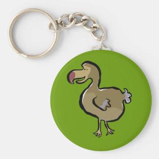 Dodo Basic Round Button Keychain