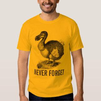 Dodo Bird Never Forget shirt