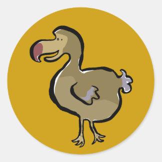 Dodo Classic Round Sticker