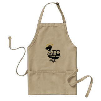 Dodo Died for Your Sins Adult Apron