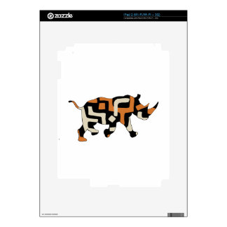 Dodo Duds (Endangered Species) Black Rhino Skin For iPad 2