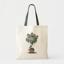 Dodo in Teacup Tote Bag