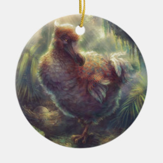 Dodo the Great Pigeon Ceramic Ornament