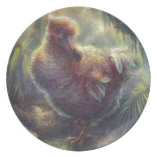 Dodo the Great Pigeon Melamine Plate