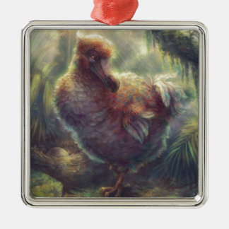 Dodo the Great Pigeon Metal Ornament