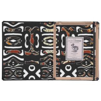 Dodocase tribal del iPad del diseñador de lujo iPad Cárcasas