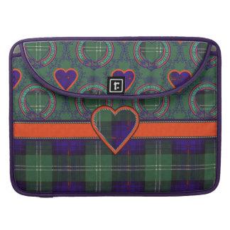 Dods clan Plaid Scottish kilt tartan Sleeves For MacBook Pro