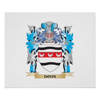 Dods Coat of Arms - Family Crest Posters