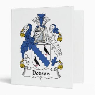 Dodson Family Crest Binders