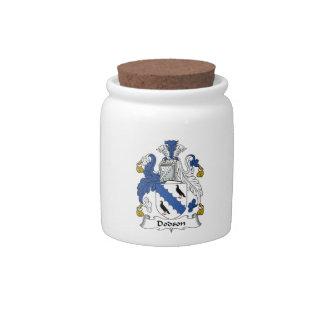 Dodson Family Crest Candy Jar