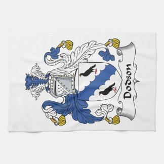 Dodson Family Crest Hand Towel