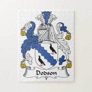 Dodson Family Crest Puzzles