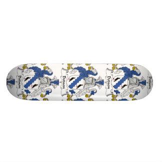 Dodson Family Crest Skate Board Deck