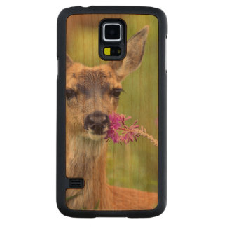 Doe a Deer Carved® Cherry Galaxy S5 Case
