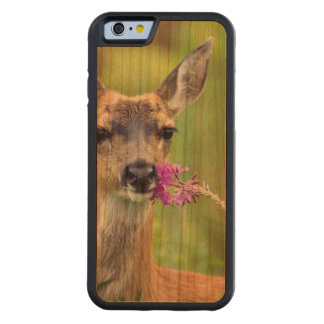 Doe a Deer Carved® Cherry iPhone 6 Bumper