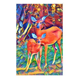 Doe and Fawn Stationery