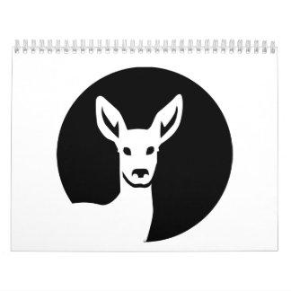 Doe deer moon calendar